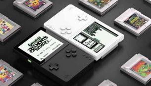 เครื่องเล่นเกมย้อนยุค-Analogue-Pocket